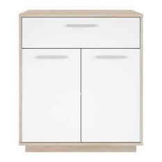 Leo Pantry Cupboard, 2 Doors, 1 Drawer