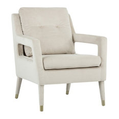 Oxford Occasional Chair, Champagne