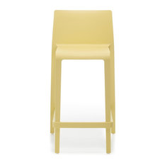 pedrali pedrali volt counter stool yellow set of 2 bar stools and