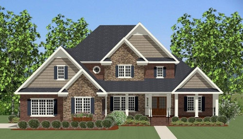 Traditional House Plans Designs