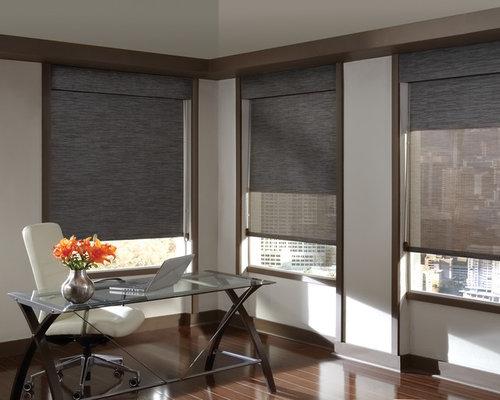 contemporary window treatments photos