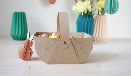 DIY : Créez un panier en kraft pour Pâques