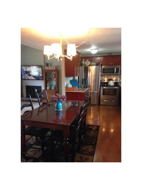 Keep my Dark Cherry Kitchen Cabinets or Paint them?