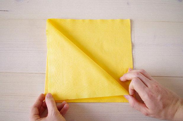Besteck In Servietten Einwickeln wie sie aus servietten eine bestecktasche falten