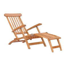 Teak Wood Titanic Outdoor Patio Steamer Chair made from A-Grade Teak Wood
