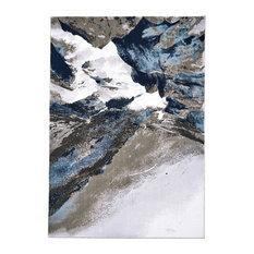 Weave & Wander Javers Rug, Gray/White, 8'x11'