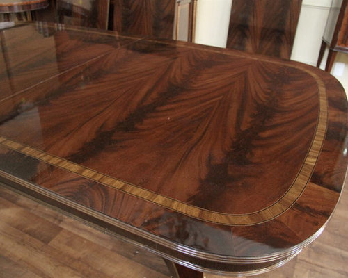 reproduction dining tables. large mahogany antique reproduction dining table (lh 4 3b) - tables