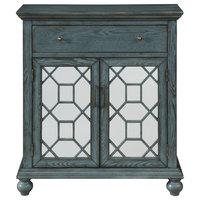 2-Door 1-Drawer Cabinet, Joliet Blue