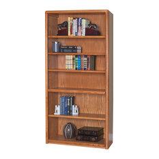 Martin Furniture Contemporary 6 Shelf Bookcase