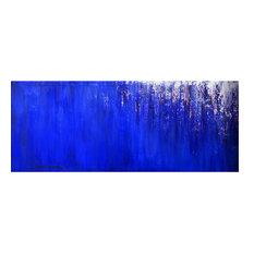Huge 24x60 Original Painting Impasto Abstract Art by Thomas John