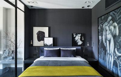 Houzz тур: Апартаменты, наполненные современным искусством