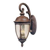 Maxim Knob Hill VX 3-Light Outdoor Wall Lantern Sienna - 40465CDSE