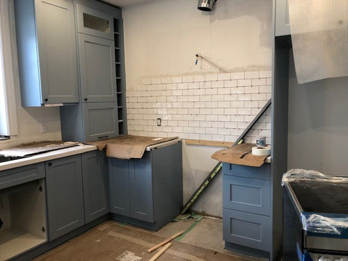 Which Dark Grout With White Subway Tile For Kitchen