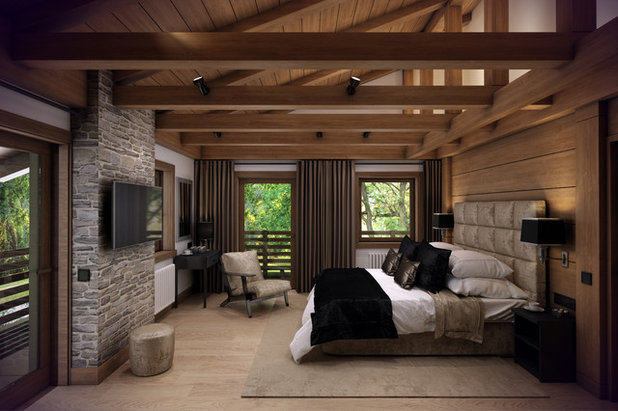 Modern Bedroom by Interiors By Laura D