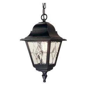 Outdoor Chain Lantern, Black