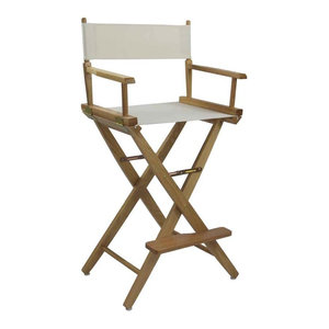 Bamboo High Director Chair, Set of 2 - Tropical - Folding ...