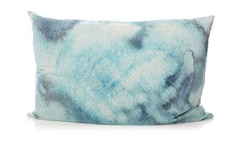 blue water silk pillowslip