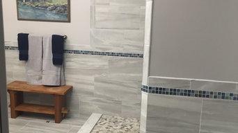 Master Bathroom Remodel in condo