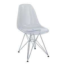 Paris Dining Side Chair, Clear