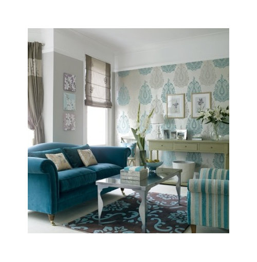 Combine With Teal Coloured Sofa