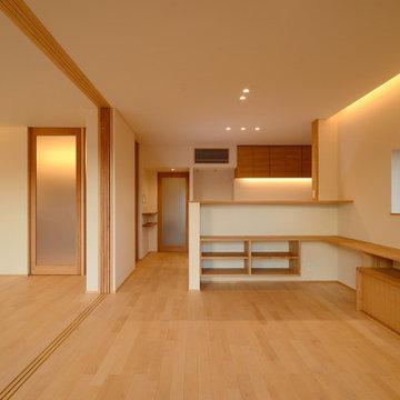 御津日暮の家(豊川市) ダイニング キッチン