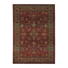 Oriental Weavers Kharma 836C4 Red/Green Area Rug 9'9x12'2