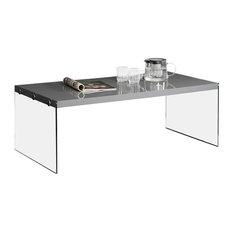 Monarch Specialties Monarch Specialties Tempered Glass Coffee Table Coffee Tables
