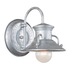 Norwell Lighting 5153-GA-NG Small Budapest Outdoor Wall Light, Copper