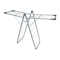 Addis Slimline X Wing Clothes Airer, Grey