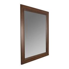 Craftsman rectangular mirrors houzz for Craftsman mirrors bathroom