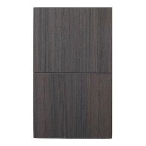 "Bliss 14""Wx24""H Linen Side Cabinet, 1 Door, Gray Oak"