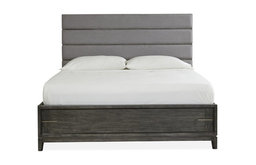 Magnussen Proximity Heights Contemporary King Upholstered Bed