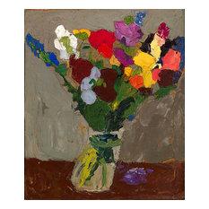 Still Life Flowers 1938 Art, 27x30