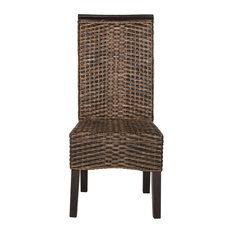 Safavieh Ilya Wicker Dining Chair Set Of 2 Chairs