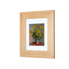 Fox Hollow Furnishings Concealed Picture Frame Medicine Cabinet No Mirror Unfinished Raised