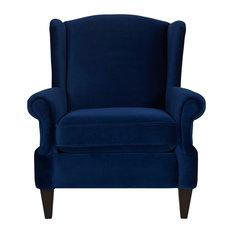Anya Armchair, Navy Blue