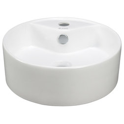 Simple Bathroom Sinks by ELANTI