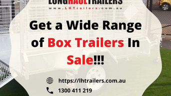 Box Trailer for Sale in Brisbane | Long Haul Trailers