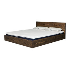 Céreste Bed With Headboard, Euro Double
