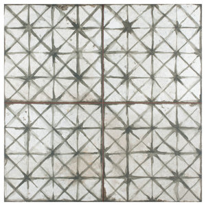 Royals Cathedral Ceramic Floor and Wall Tile, Sage, Sample