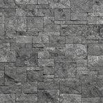 Evolve Stone - Evolve Stone Veneer, Phantom Shadow, Georgetown Run, Fire Rated - Evolve Stone Georgetown Run Phantom Shadow Fire Rated Flat Stone Veneer (14.25 sq. ft. per box)