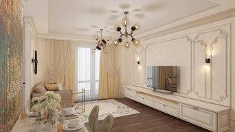 Перепланировка 2х комнатной квартиры