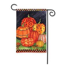 Painted Pumpkins BreezeArt Garden Flag