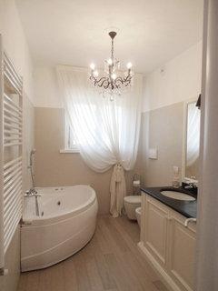 bagno in bianco e nero: mostrate il vostro lato optical - Bagni Moderni Bianchi E Neri