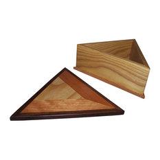 Wood Triangle box