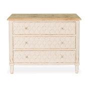 Coulter 3 Drawer Dresser, Cream Finish