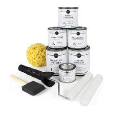 - Giani Countertop Paint Kit, White Diamond - Paint