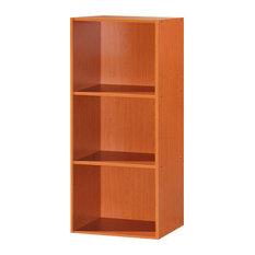 3-Shelf Bookcase, Cherry