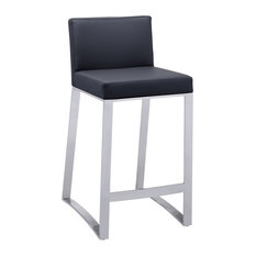 Architect Counter Stool, Black