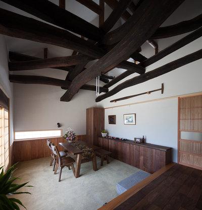 和室・和風 ダイニング by 株式会社 井川建築設計事務所 / igawa-architecture